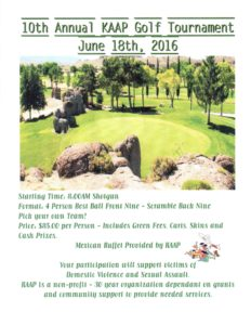 KAAP -10th Annual Golf Tourney